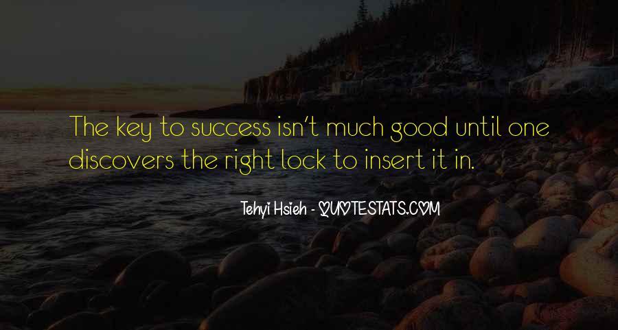 Key Lock Quotes #629177
