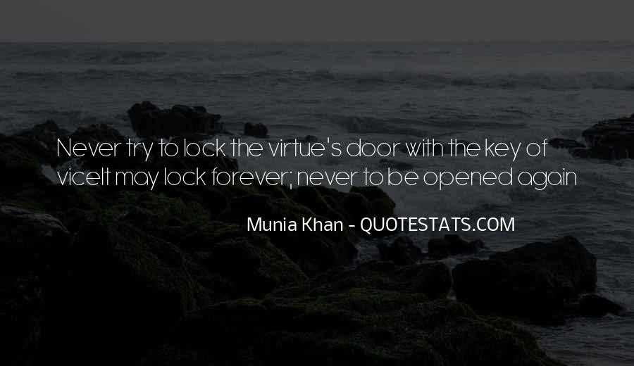 Key Lock Quotes #661522