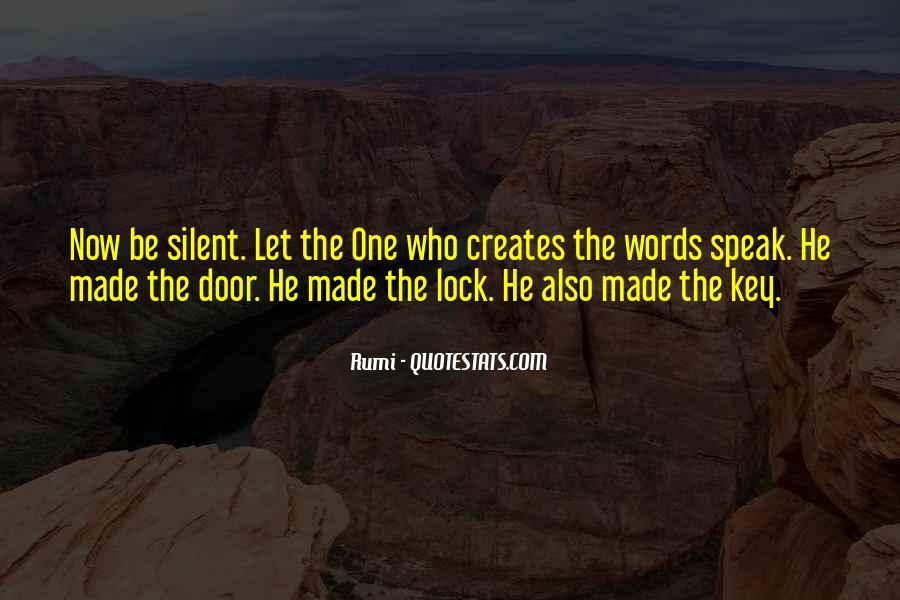 Key Lock Quotes #670795
