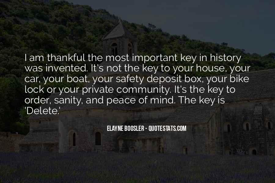 Key Lock Quotes #690964