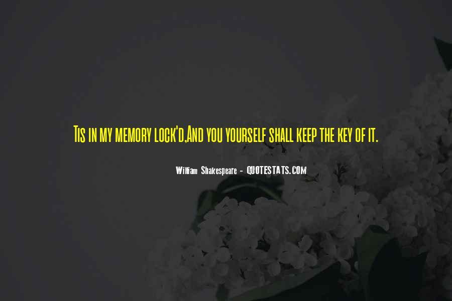 Key Lock Quotes #693197