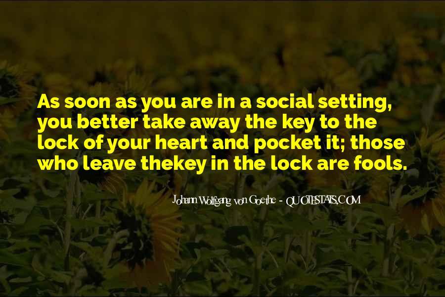 Key Lock Quotes #76061