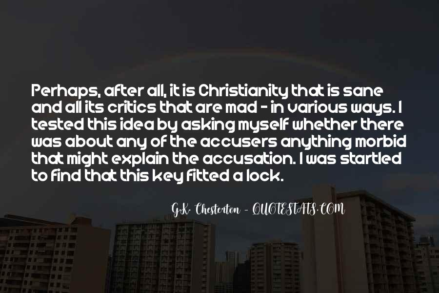 Key Lock Quotes #856108