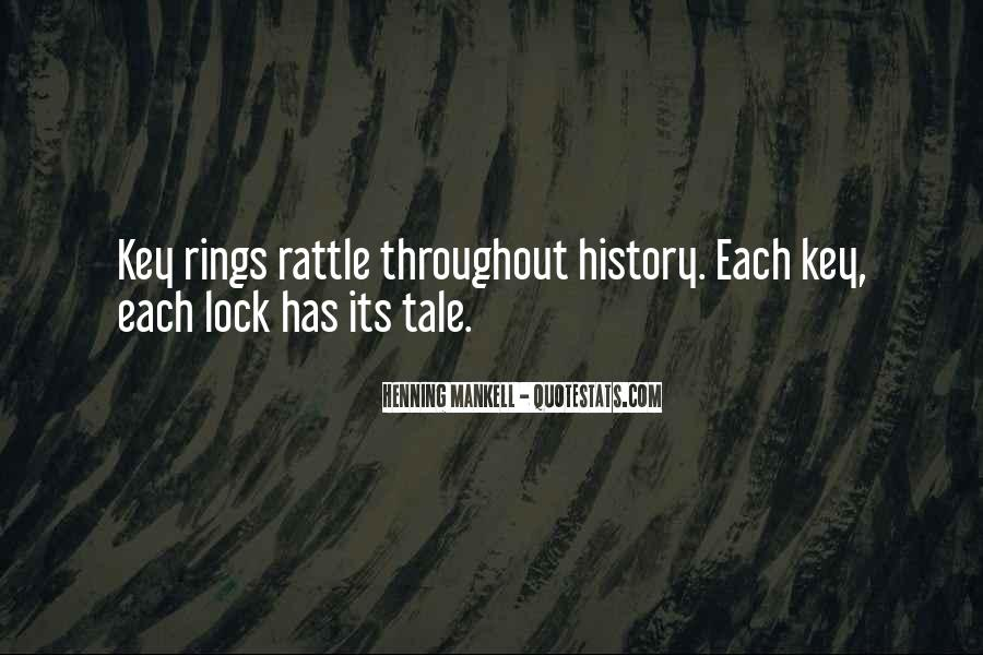 Key Lock Quotes #895748