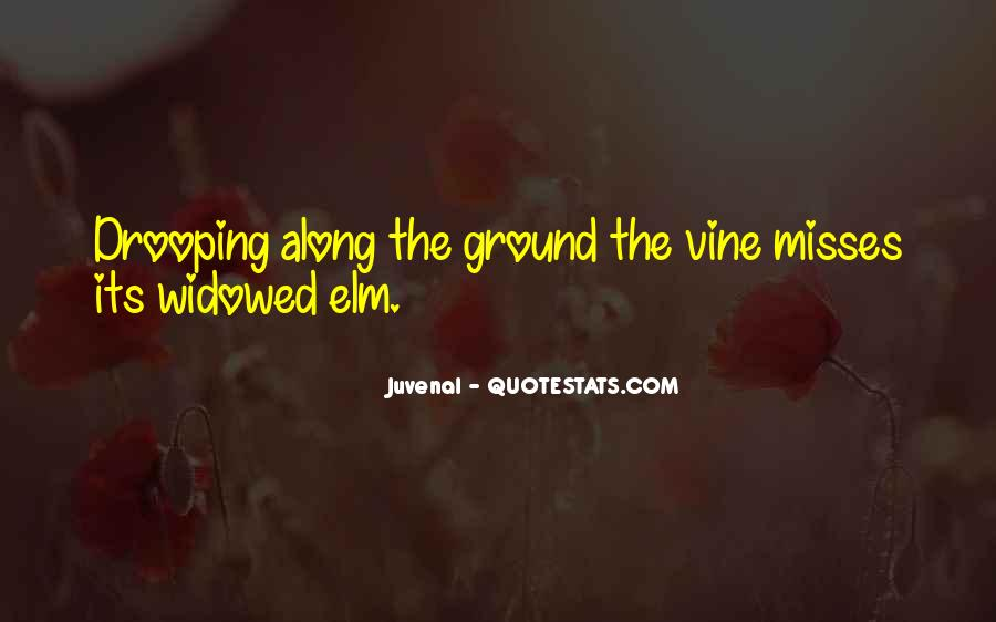 Quotes About Elm #1259454
