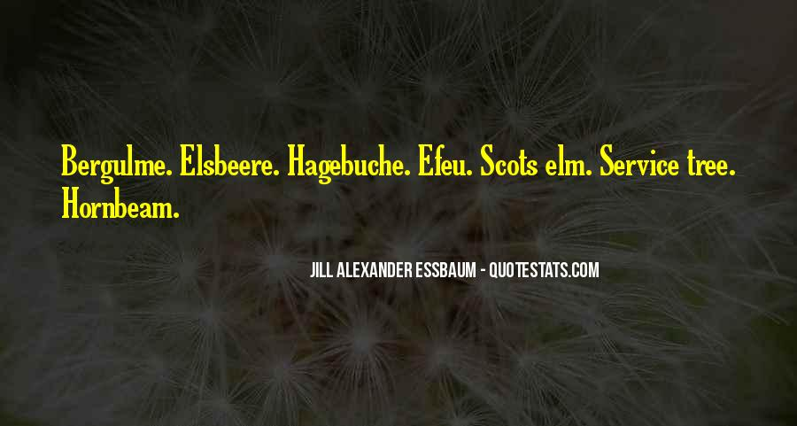 Quotes About Elm #943804