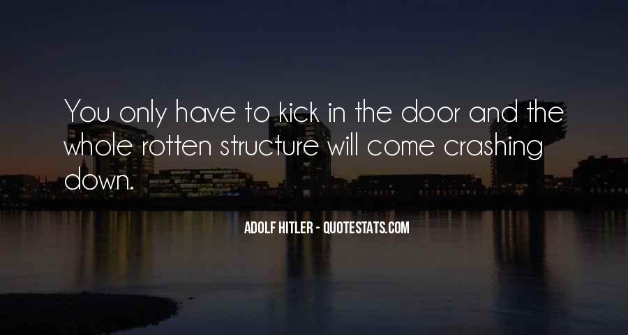 Kick Me Down Quotes #84094