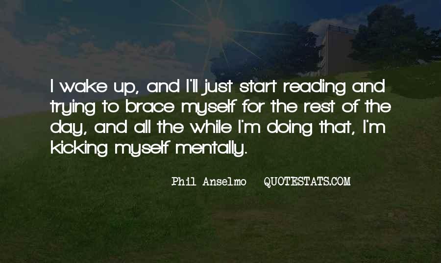 Kicking Myself Quotes #401692