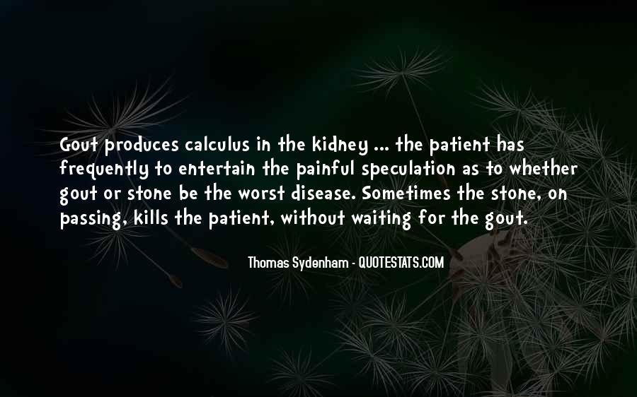 Kidney Stone Quotes #88449