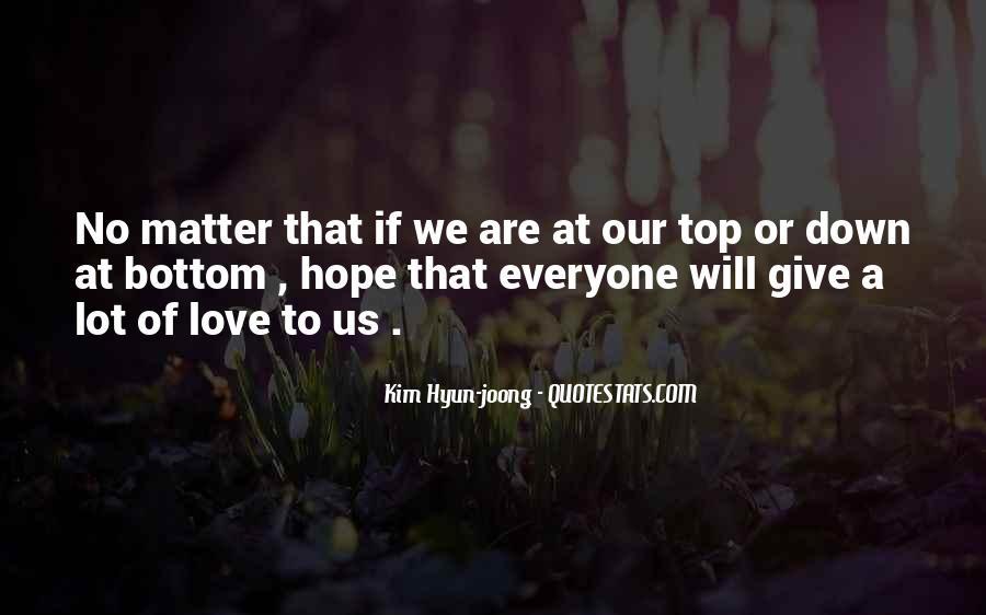 Kim Hyun Joong Love Quotes #1781191