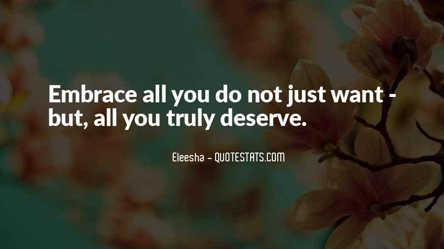Quotes About Eleesha #1227962