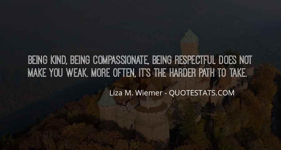 Kind And Compassionate Quotes #1106080
