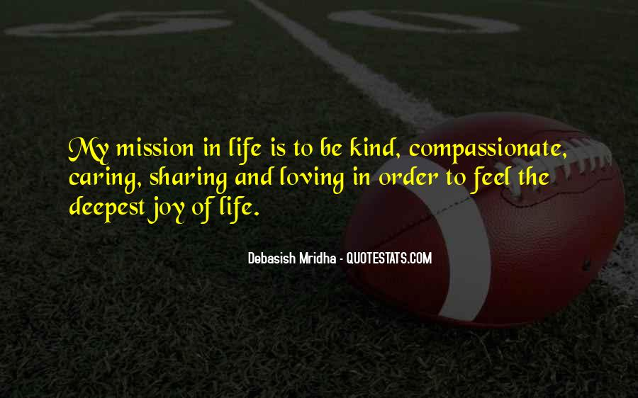 Kind And Compassionate Quotes #1161553