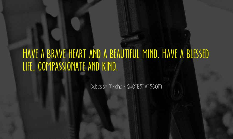 Kind And Compassionate Quotes #1395959