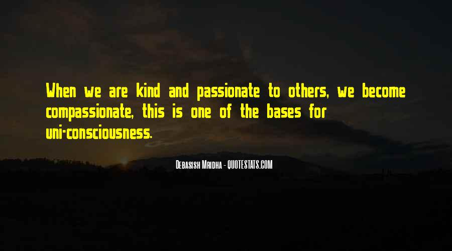 Kind And Compassionate Quotes #1416851