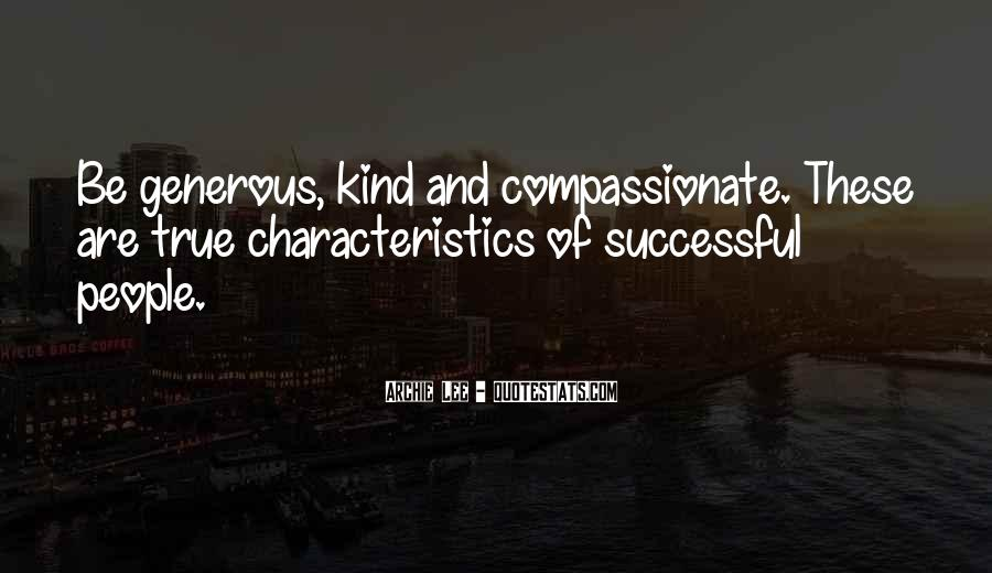 Kind And Compassionate Quotes #157586