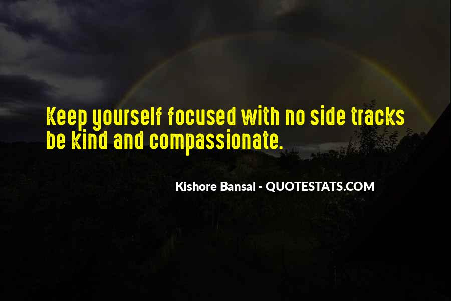 Kind And Compassionate Quotes #1722031