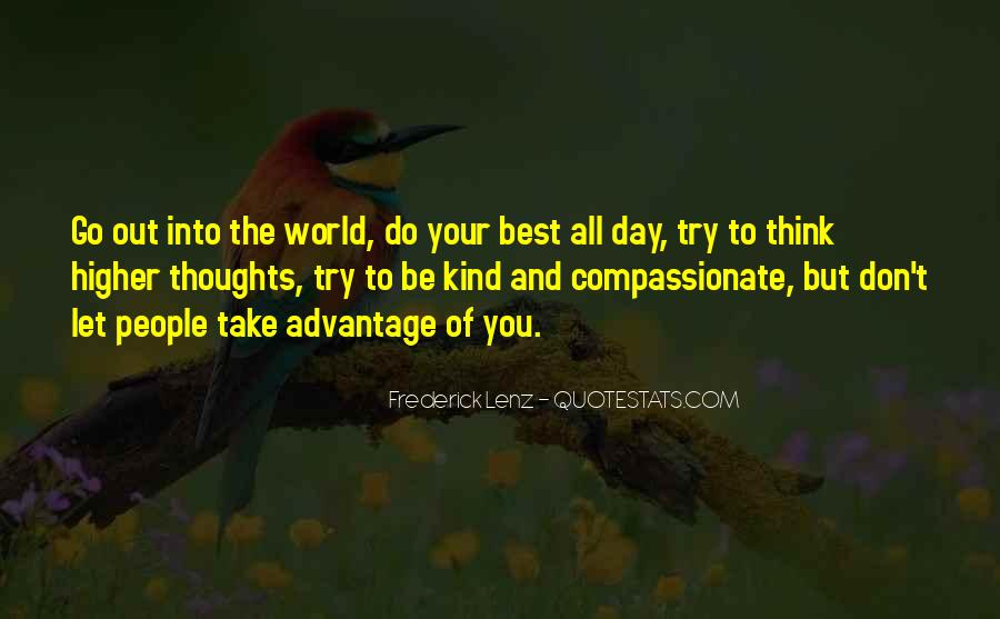 Kind And Compassionate Quotes #1781339