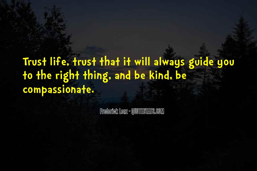 Kind And Compassionate Quotes #881133