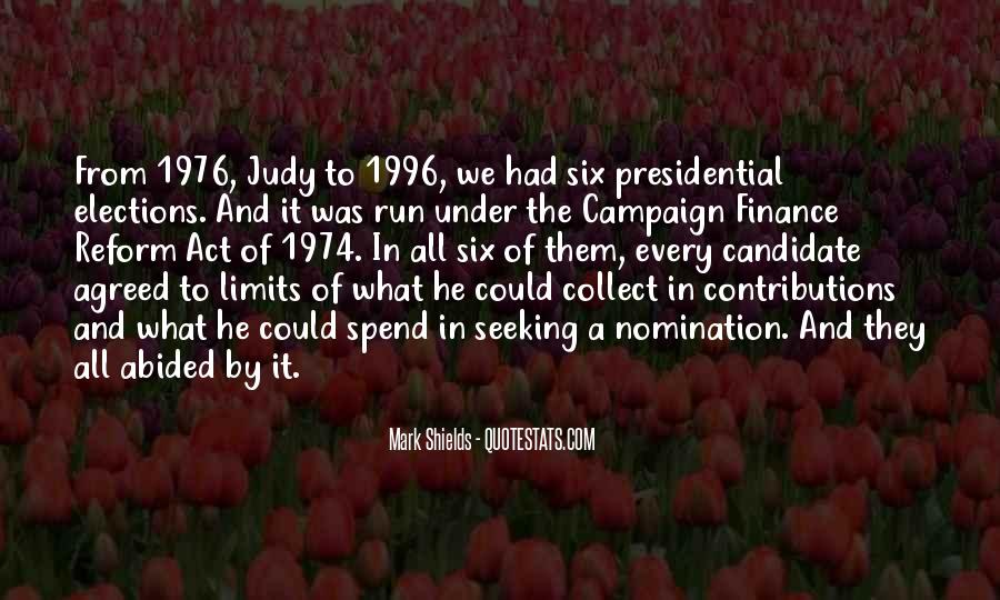 Quotes About Elections Campaign #365482