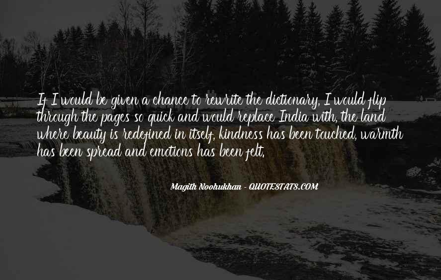 Kindness Warmth Quotes #220981