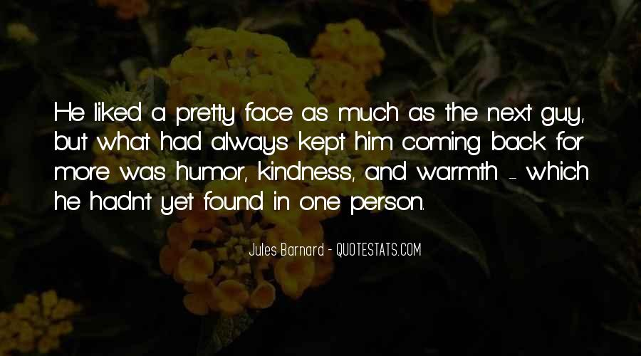 Kindness Warmth Quotes #92227