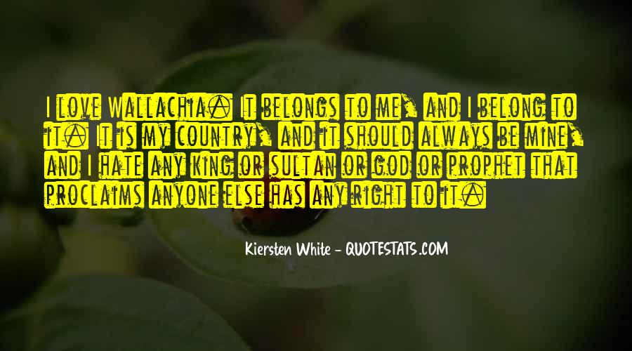 King And Love Quotes #192555
