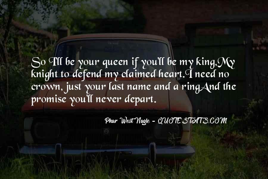 King And Love Quotes #420346