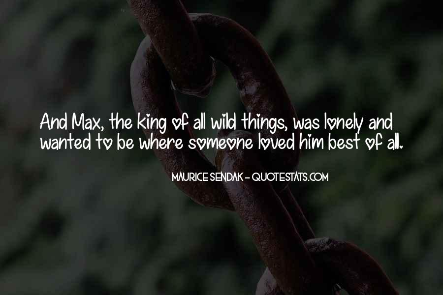 King And Love Quotes #512864