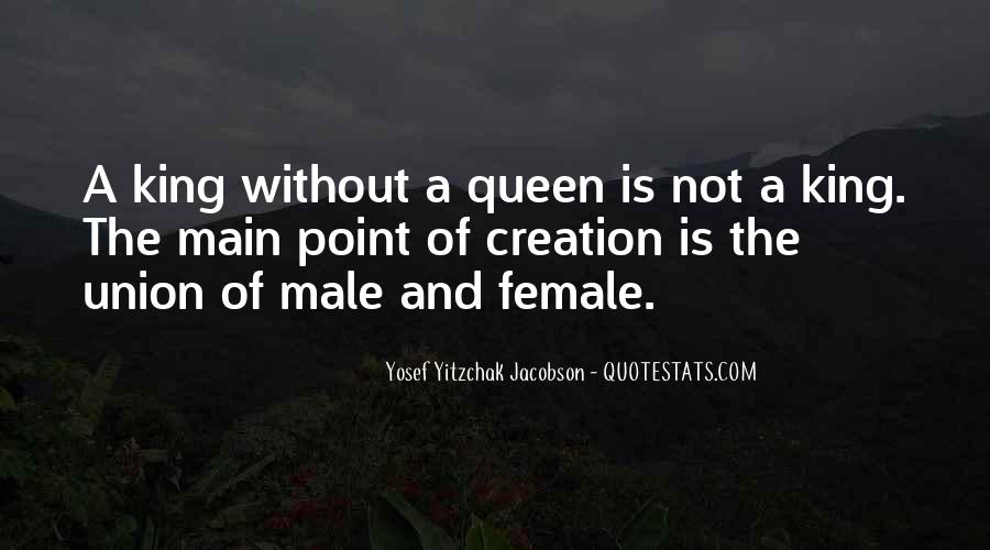Kings Queens Quotes #23365