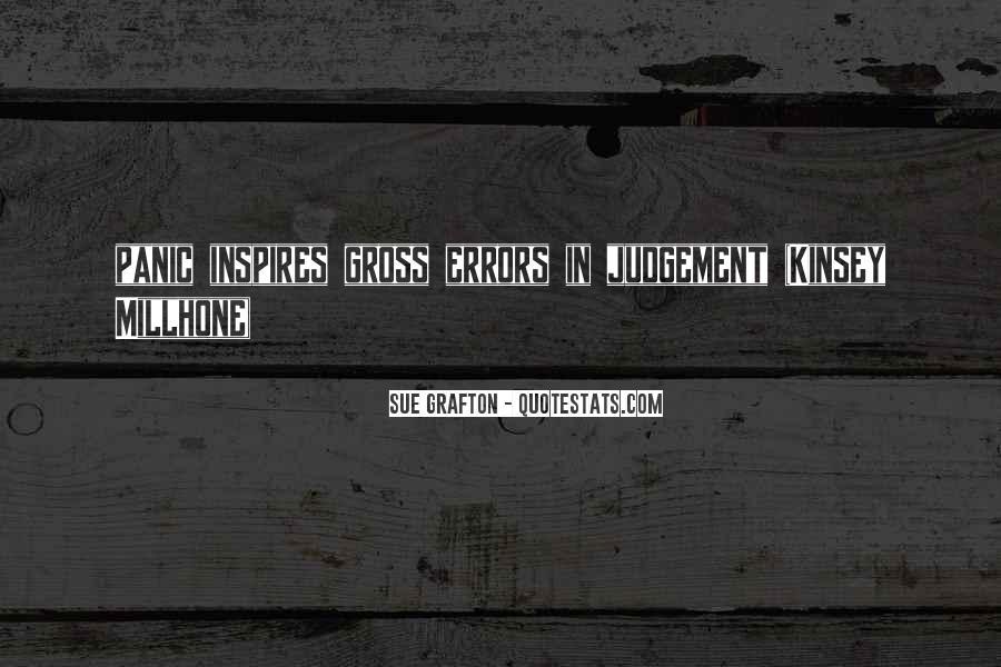 Kinsey Millhone Quotes #1675195