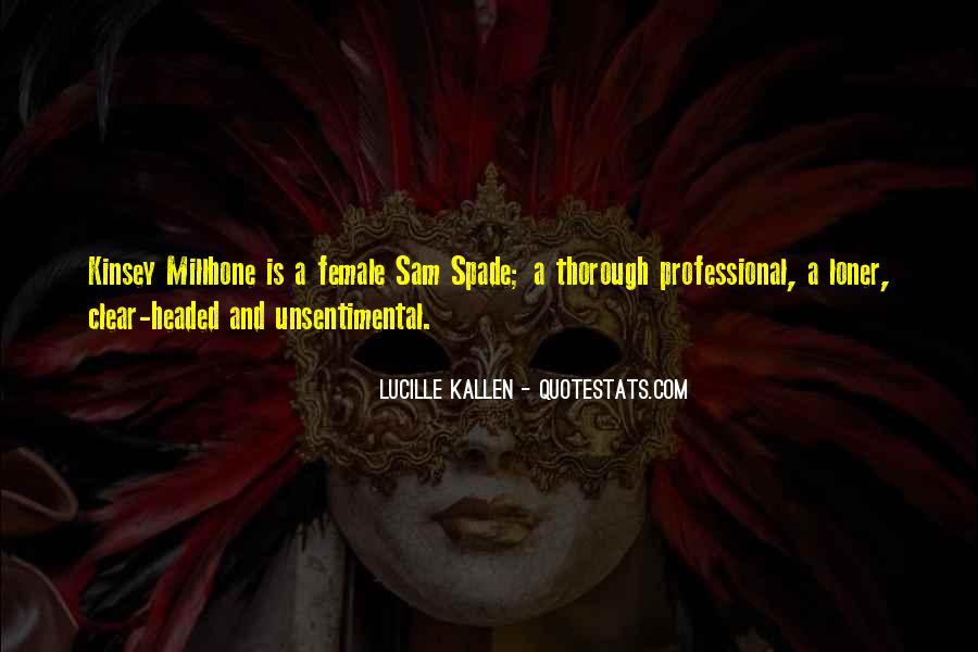 Kinsey Millhone Quotes #473858