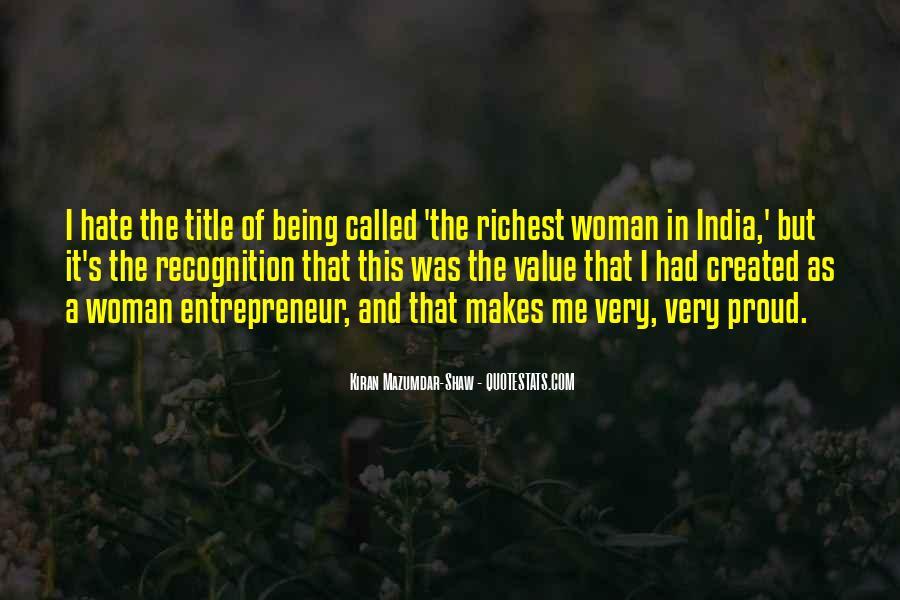 Kiran Mazumdar Quotes #165268