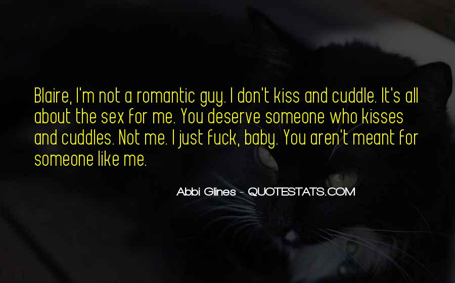 Kiss And Cuddle Quotes #1327248