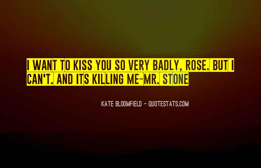Kiss Me Love Quotes #538758