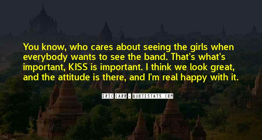 Kiss The Band Quotes #761017
