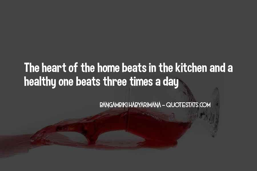 Kitchen Heart Home Quotes #635981