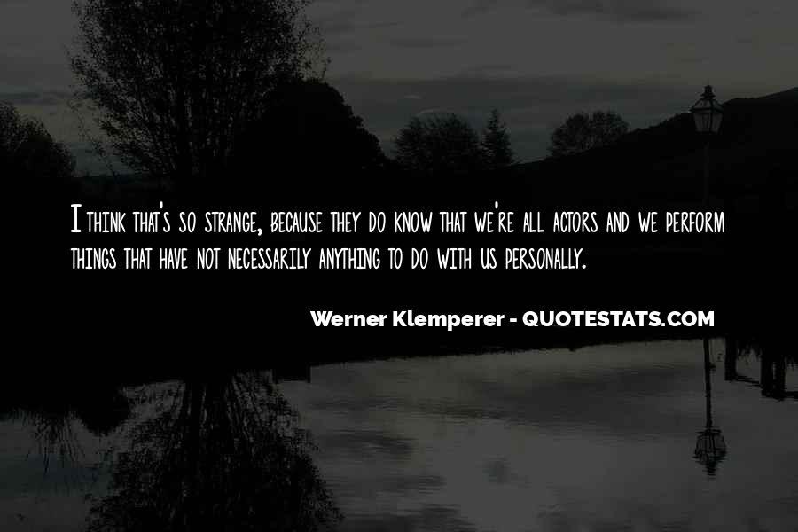 Klemperer Quotes #1563