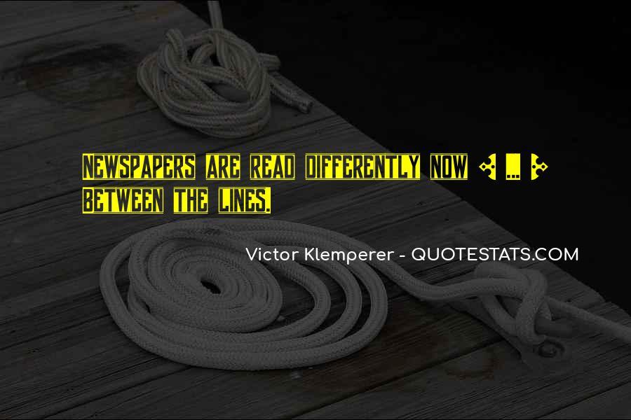 Klemperer Quotes #244376
