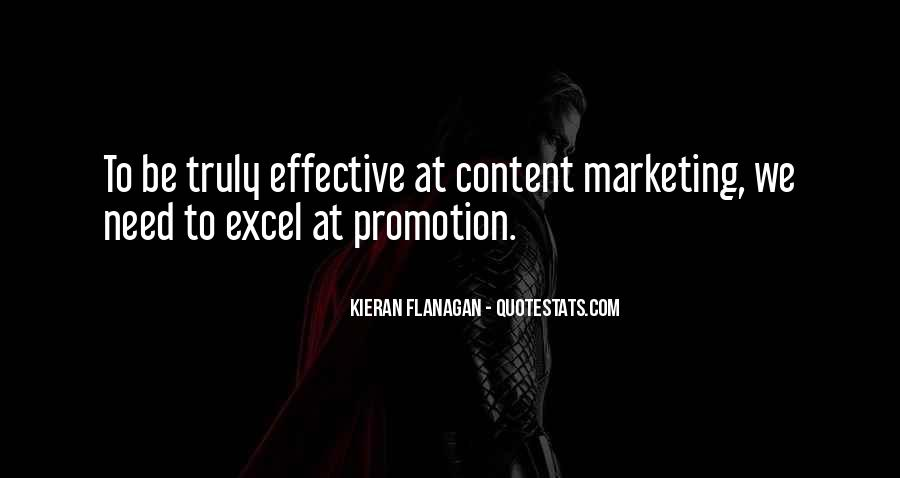 Quotes About Effective Marketing #107775