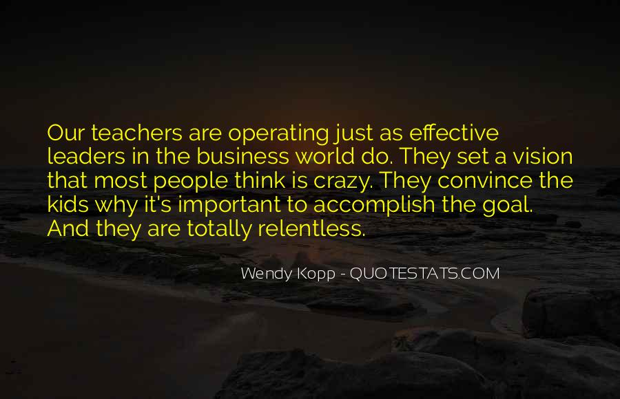 Quotes About Effective Leaders #1148855