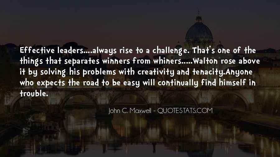 Quotes About Effective Leaders #1178054