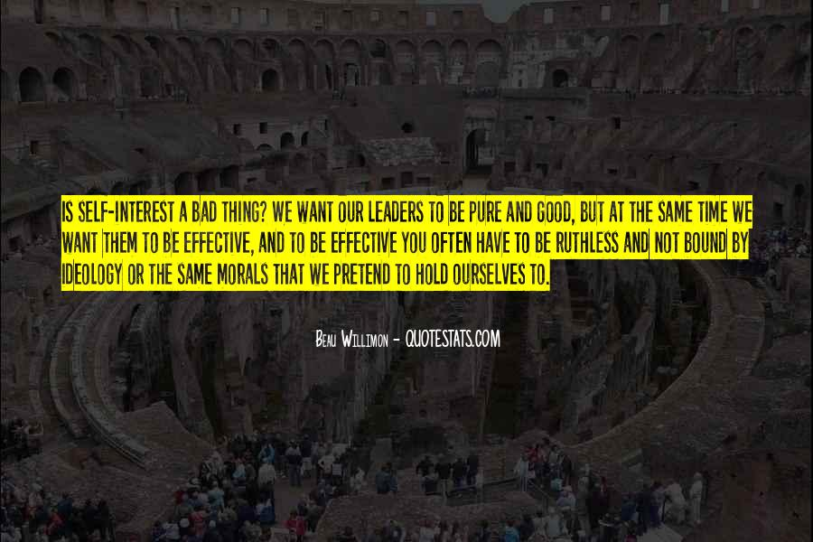 Quotes About Effective Leaders #11827