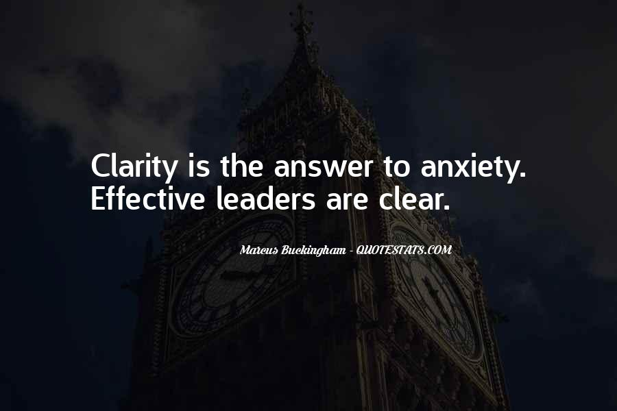 Quotes About Effective Leaders #1401218