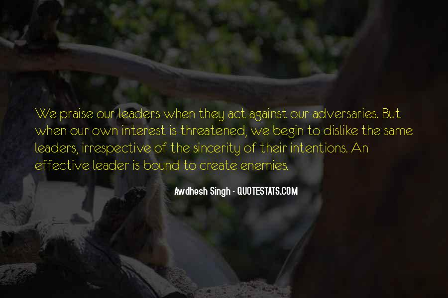 Quotes About Effective Leaders #1596629