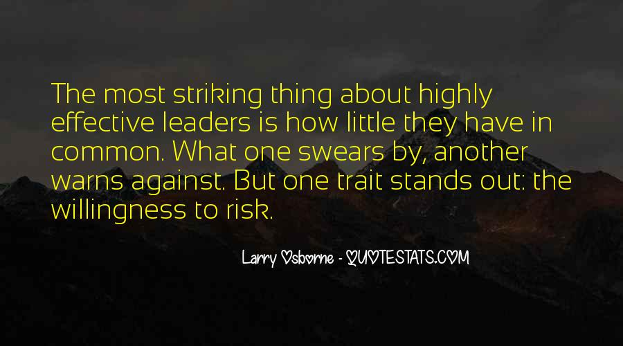 Quotes About Effective Leaders #1784051