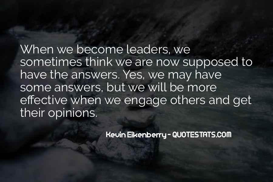 Quotes About Effective Leaders #1843700