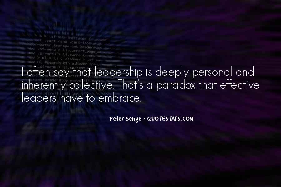 Quotes About Effective Leaders #1875168