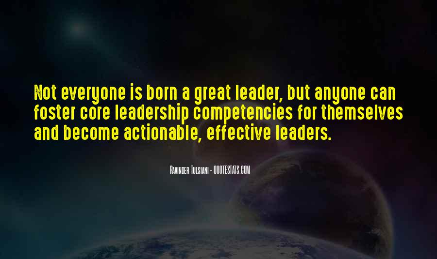 Quotes About Effective Leaders #189531