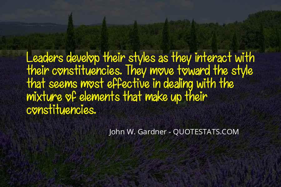 Quotes About Effective Leaders #581045